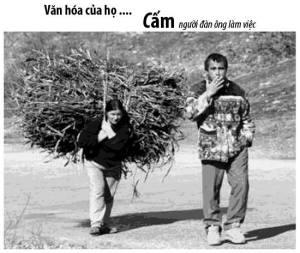 Văn hóa của họ ... Cấm đàn ông làm việc Nguồn http://www.tinmoi.vn/tong-hop-nhung-hinh-anh-vui-nhon-449-011279451.html